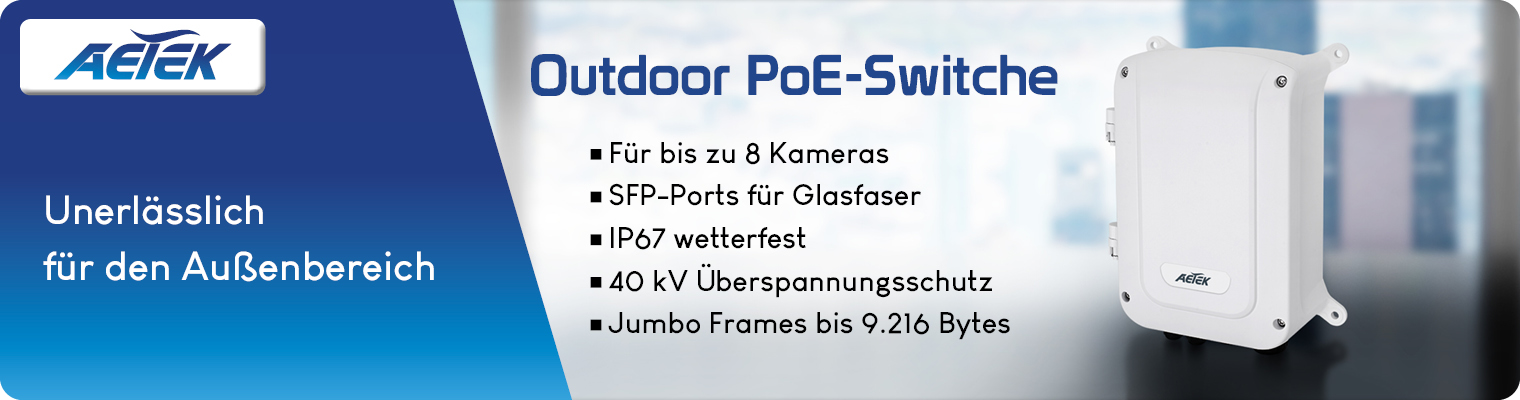 PoE-Switches Outdoor
